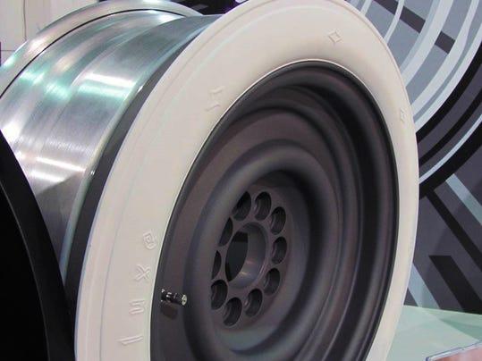 New Whitewall Wheel Keeps Old Car Look