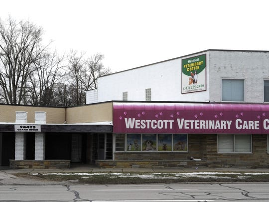 The former Wescott Veterinary Care Clinic building,