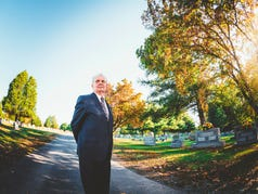12 Questions: Well this is interesting... With a funeral director.