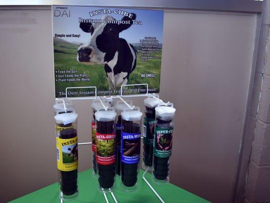 A display of DAI Insta – Cubes Instant Compost Tea,