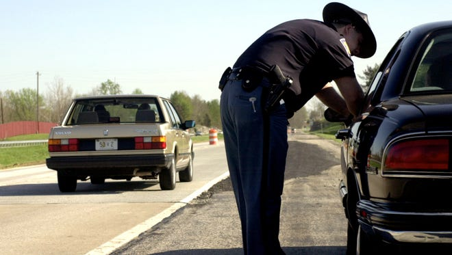 Indiana state troopers will be able to issue tickets for drivers who back up the passing lane on two-lane roads.