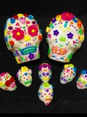 "Michelle Duran will offer a program on ""Sugar Skull Demo and Decorating"" at Twin Archer Brewpub for First Thursday, Nov. 2, 2017."
