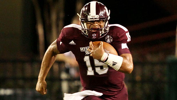 Mississippi State quarterback Dak Prescott finished the spring with a strong performance in the Maroon/White game.