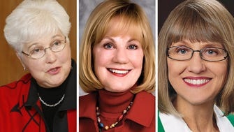 (From left) Former Lt. Gov. Margaret Farrow and state Senators Alberta Darling of River Hills and Mary Lazich of New Berlin were among Republicans named Wednesday to the state leadership of the Wisconsin Women for Trump Coalition.