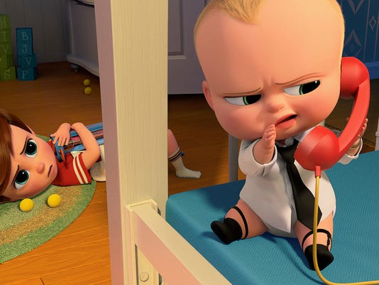 AP FILM REVIEW THE BOSS BABY A ENT