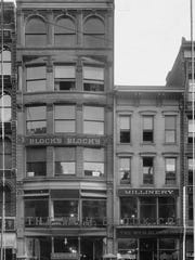 The original William H. Block store on East Washington street.