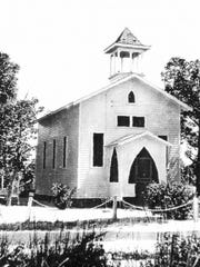 St. Joseph's Catholic Church on Cleveland Ave from 1916-1947