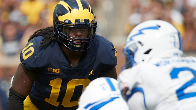 Michigan linebacker Devin Bush headlines a defense that might be good enough to win a national championship.