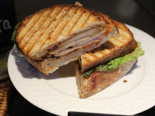 A Turkey, Bacon, Lettuce and Tomato sandwich at Ladle