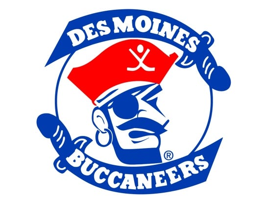 Enter to win 2 tickets to the DM Bucs vs Dubuque Fighting Saints on Feb. 3rd. Enter 1/11-1/25