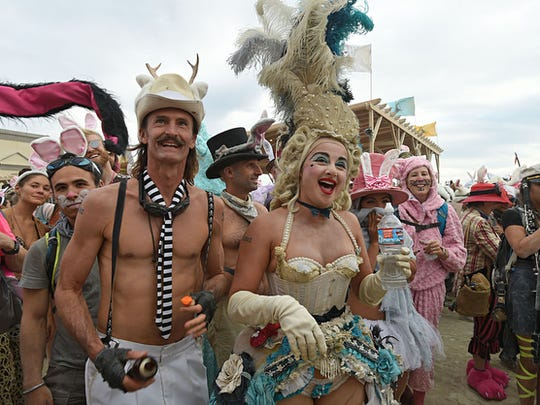 RGJ photographer Andy Barron's collection of his favorite photograph from Burning Man 2016.