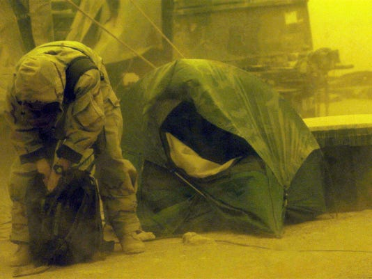 New research links Iraq dust to ill soldiers