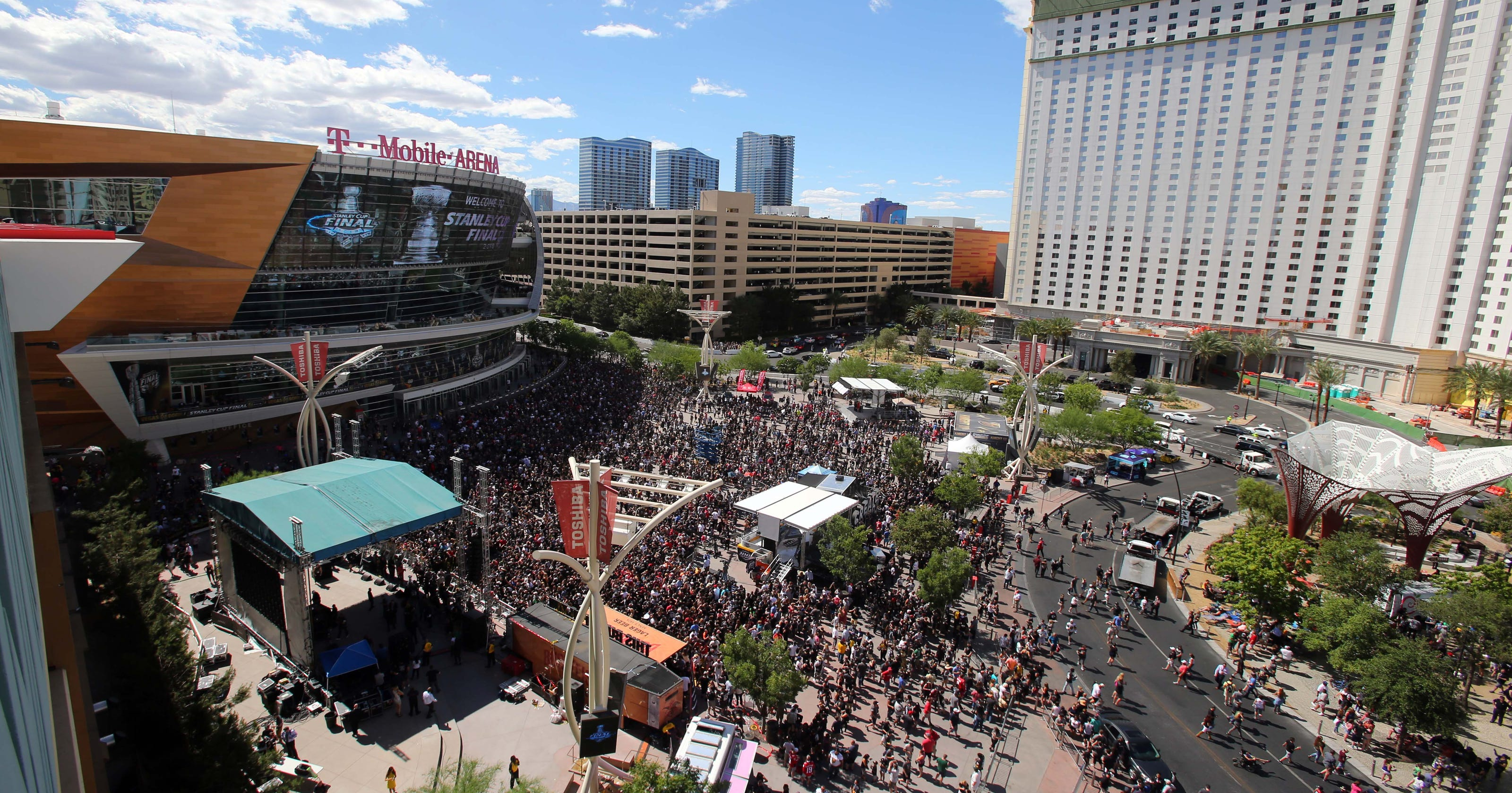 5cd448d6773 Stanley Cup 2018  Las Vegas temperatures could reach 100 for Game 2