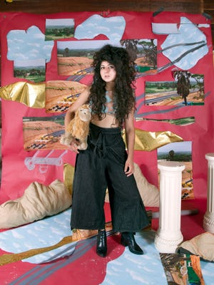 """A portrait of Sheida Soleimani, whose short film """"Medium of Exchange"""" will have its world premiere as part of the Contemporary Arts Center's Black Box Performance Series March 29-30."""