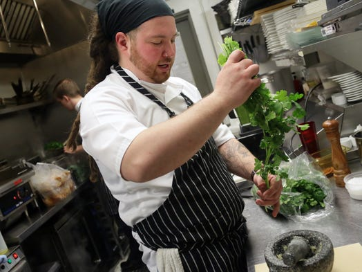Chef Garrett Lipar of Torino in Ferndale is one of