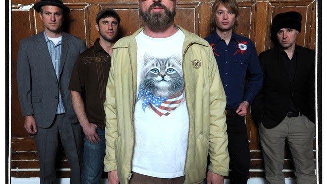 The band Cake will play Athens, Ga. on Sunday night.