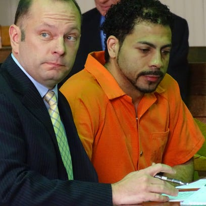 Rodney A. Curtis, right, pleads guilty to 13 counts