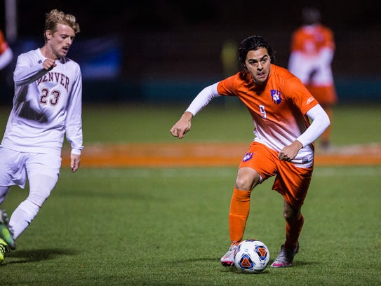 Clemson junior Diego Campos led the Tigers with six