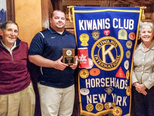 ELM Horseheads Kiwanis Officer of year