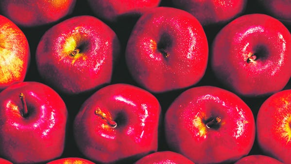 Red Delicious apples have a history in Iowa.