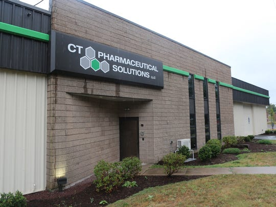 A view Connecticut Pharmaceutical Solutions in Portland, Connecticut, photographed Aug. 11, 2015. The company makes medical marijuana.