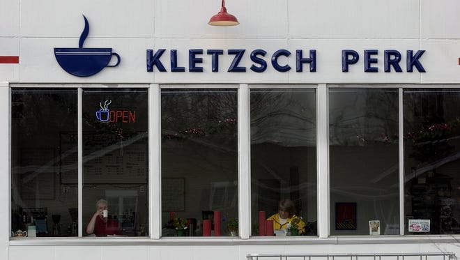 The former Kletzsch Perk coffee shop, closed for 10 years, might be converted to a Goody Gourmets popcorn and candy shop, and offices for that local company.