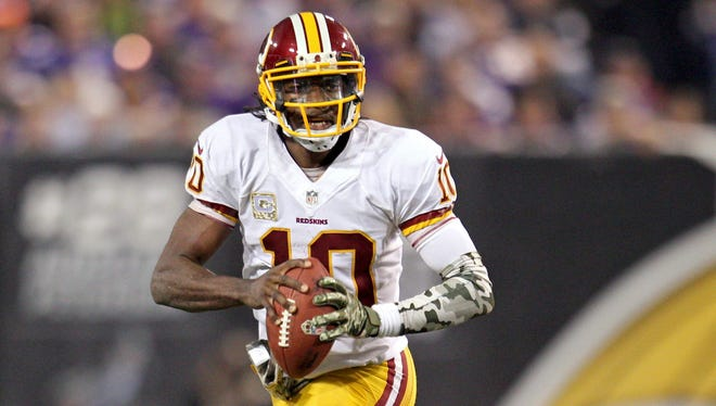 Robert Griffin III has taken a step back in Year Two.