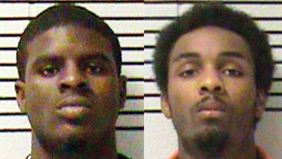 Bernard Nix (left) and Aaron McDowell (right) were sentenced on Wednesday.