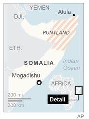 Pirates hijack freighter off Somalia's coast