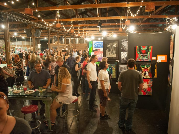 Pancakes booze art show at the duce in phoenix for Craft fairs in phoenix az