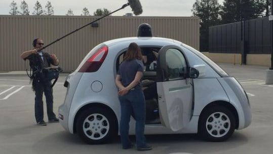 Google's self-driving car is currently racking up test miles in the cities of Mountain View, Calif, and Austin, Texas.