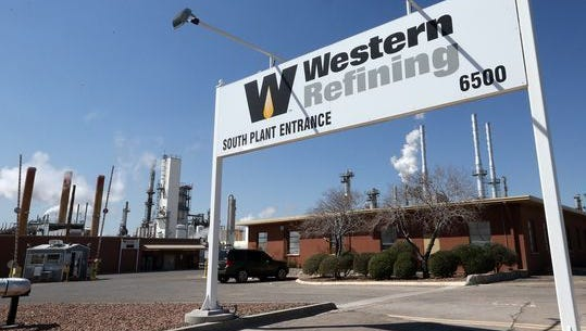 Western Refining, which has an El Paso refinery, pictured here, and Tesoro Corp., of San Antonio, have scheduled March 24 shareholders' meetings to vote on the oil refiners proposed merger.