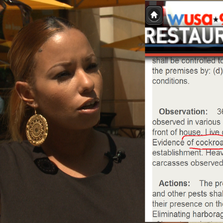WUSA9 viewers are turning into foodie enforcers - turning in restaurants with food dangers.