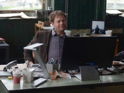 Rainn Wilson plays Detective Everett Backstrom in the new Fox crime drama, 'Backstrom.'