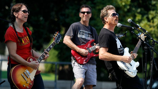 City of Pieces performed during Salem Sunday Streets this year. They will be part of the concert at Willamette tonight.