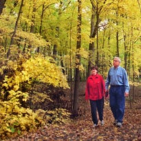 Nancy and Lou Jost, whose Franklin home is near Whitnall Park, take frequent walks in the area in and around the park, enjoying the natural habitat and it's creatures.