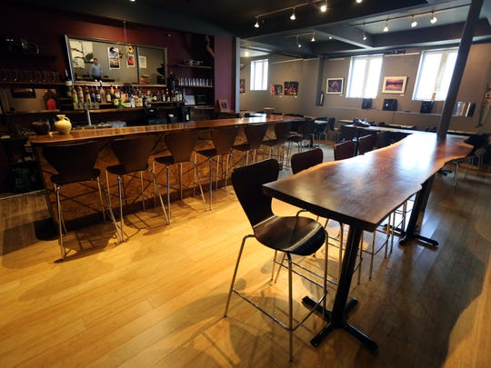 The interior of the new Jazz Forum, a jazz venue run by Mark Morganelli, in Tarrytown, photographed June 1, 2017.