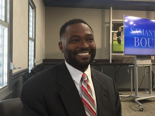 Terry Gallon, dean of students at Nims Middle School, is a Glenn-Howell