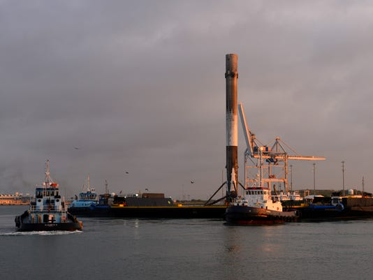 SpaceX Booster Returns