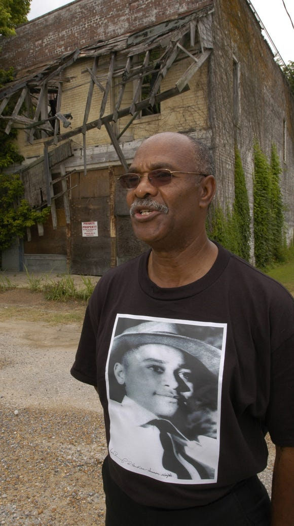 Simeon Wright was with his cousin, Emmett Till, a 14-year-old