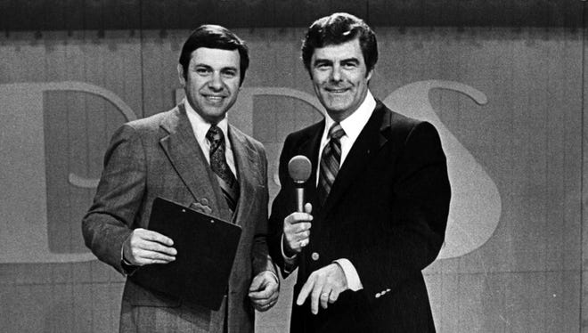 Bill Myers, left, and Bob Braun in 1979