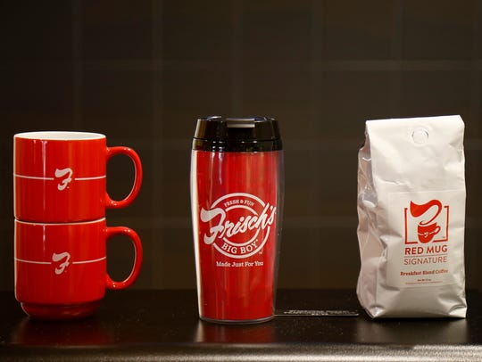 Frisch's merchandise at the new Frisch's Big Boy location