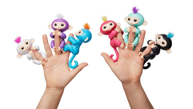 Fingerlings by Wowwee are one of the hardest to find toys this holiday season.