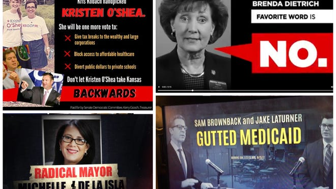 As Nov. 3 nears, ads in local-area Statehouse and congressional races are ramping up.