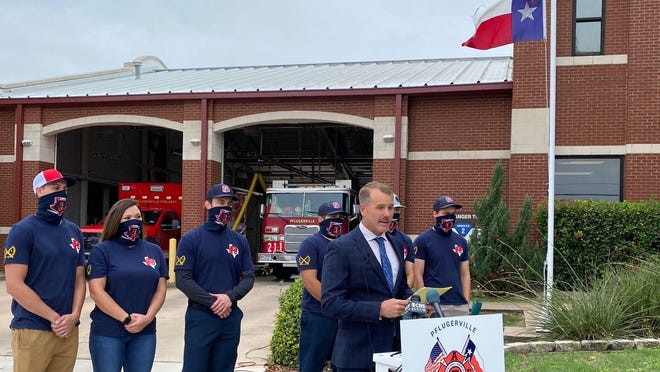 The Pflugerville Professional Firefighters Association launched a petition to put an item on the ballot in May that would help remedy a lack of funding. Josh Stubblefield, president of the association, announced the petition at a press conference on Sept. .11.