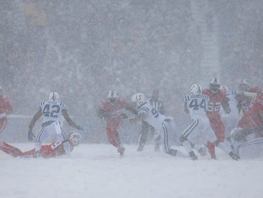 NFL: Indianapolis Colts at Buffalo Bills