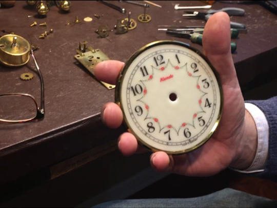 Steve Shroyer, the owner of The Cottage Clock Shop in Galion, talks about the end of Daylight Saving Time and how to properly turn back a German anniversary clock.