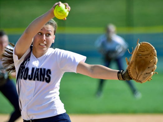 Chambersburg's winds up to pitch the  Red Land game