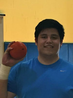 Saddle Brook High School senior Gio Gutierrez may be North Jersey's top soccer-playing thrower.