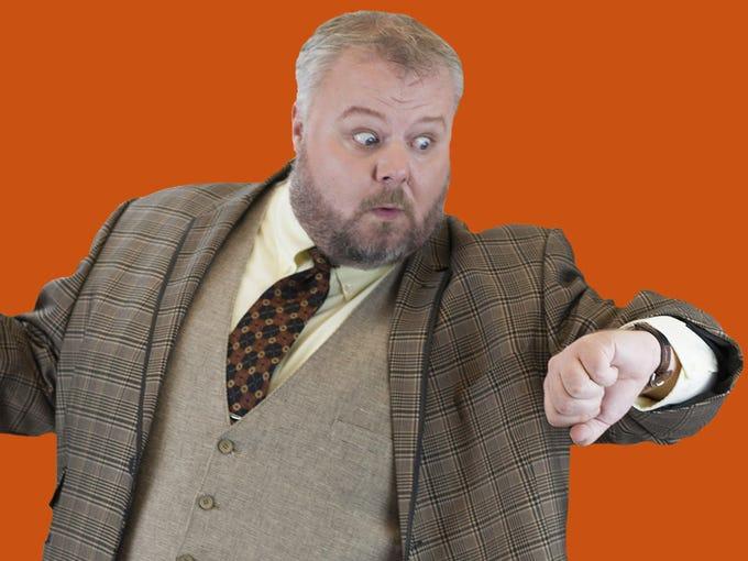Ron May induced belly laughs  in Phoenix Theatre's